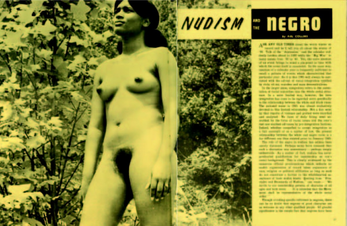 There are negros among us - Naturism, nudism and clothes free living African Americans and the clothes free community